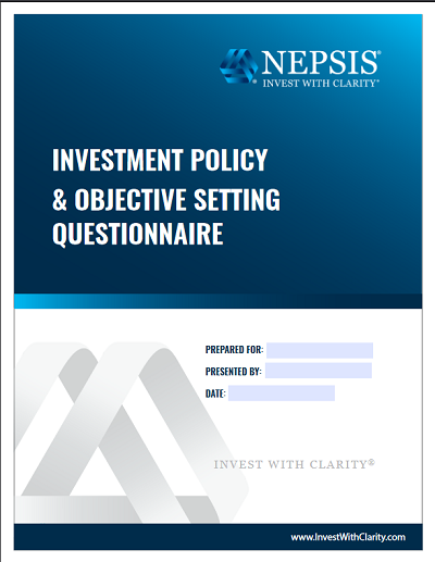Investment Policy & Objective Setting Questionnaire
